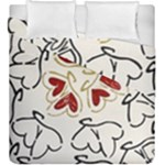 Love Love Hearts Duvet Cover Double Side (King Size)