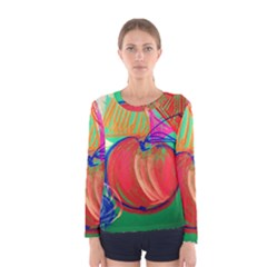 Dscf1425 (1)   Fruits And Geometry 2 Women s Long Sleeve Tee by bestdesignintheworld