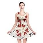 Love Love Hearts Reversible Skater Dress
