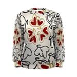Love Love Hearts Women s Sweatshirt
