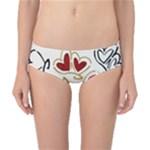 Love Love Hearts Classic Bikini Bottoms