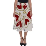 Love Love Hearts Perfect Length Midi Skirt