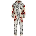 Love Love Hearts Hooded Jumpsuit (Men)