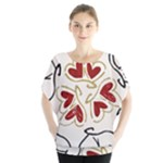Love Love Hearts Blouse