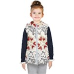 Love Love Hearts Kid s Hooded Puffer Vest