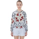 Love Love Hearts Women s Tie Up Sweat