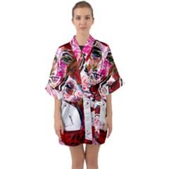 Dscf1554 - Madonna And Child Quarter Sleeve Kimono Robe by bestdesignintheworld