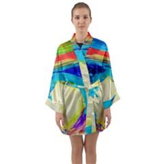 Dscf3229   Kite In Brasil Long Sleeve Kimono Robe