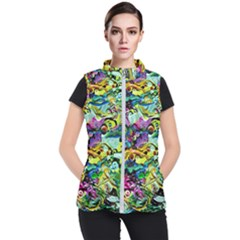 There Where Alice Took A Walk 5 Women s Puffer Vest by bestdesignintheworld