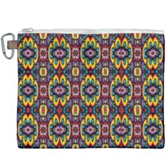 Artwork By Patrick Squares 5 Canvas Cosmetic Bag (xxxl) by ArtworkByPatrick