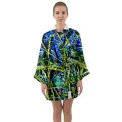 Moment Of The Haos 8 Long Sleeve Kimono Robe by bestdesignintheworld