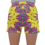 Yellow Blue Red Green Violet Purple 59 Sleepwear Shorts