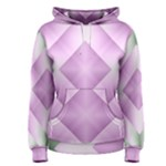 Shades Of Pink And Green 1 Women s Pullover Hoodie