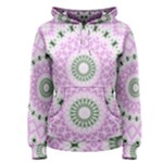 Shades Of Pink And Green 3 Women s Pullover Hoodie