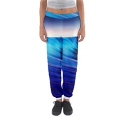 Rolling Waves Women s Jogger Sweatpants by Sapixe