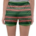 Bubbly Lines Green Pink Sleepwear Shorts View2