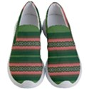 Bubbly Lines Green Pink Women s Lightweight Slip Ons View1