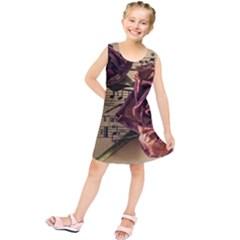 Sheet Music Manuscript Old Time Kids  Tunic Dress