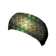 Fractal Art Digital Art Yoga Headband by Sapixe