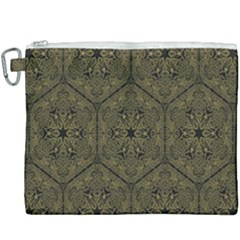 Texture Background Mandala Canvas Cosmetic Bag (xxxl) by Sapixe