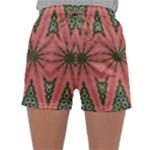 Bubbly Green Pink Blue Sleepwear Shorts