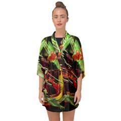 Enigma 1 Half Sleeve Chiffon Kimono by bestdesignintheworld