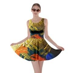 I Wonder 5 Skater Dress by bestdesignintheworld