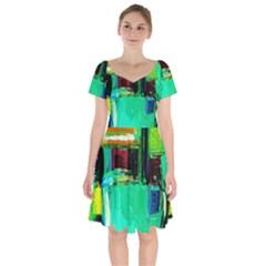 Marakesh 9 Short Sleeve Bardot Dress by bestdesignintheworld