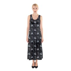 Swans Sleeveless Maxi Dress by greenthanet