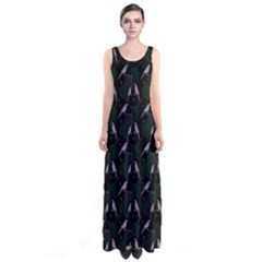Magpies Sleeveless Maxi Dress by greenthanet