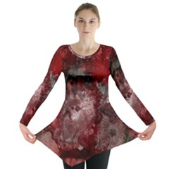How Red Was Born Long Sleeve Tunic  by Terzaek
