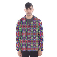 Colorful-30 Hooded Wind Breaker (men) by ArtworkByPatrick
