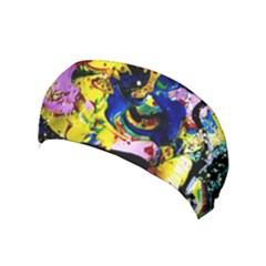 Yellow Roses 2 Yoga Headband by bestdesignintheworld