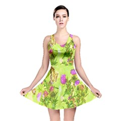 Butterflies Reversible Skater Dress