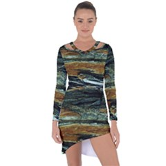 Tree In Highland Park Asymmetric Cut Out Shift Dress by bestdesignintheworld