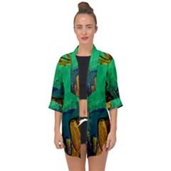 Young Witches Open Front Chiffon Kimono by bestdesignintheworld
