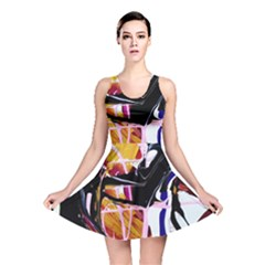 Immediate Attraction 2 Reversible Skater Dress by bestdesignintheworld