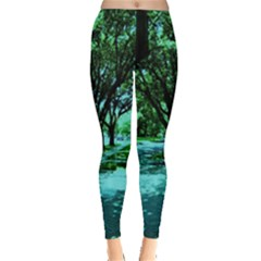 Hot Day In Dallas 5 Leggings  by bestdesignintheworld