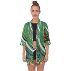 Matters Most 3 Open Front Chiffon Kimono