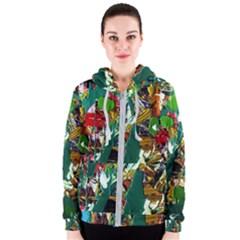 Oasis Women s Zipper Hoodie by bestdesignintheworld