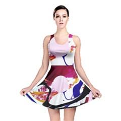 Immediate Attraction 8 Reversible Skater Dress by bestdesignintheworld