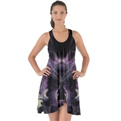 Ghost Gear   Lavender Blossom   Show Some Back Chiffon Dress by GhostGear
