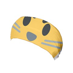Cat Emoji Yoga Headband by goodart