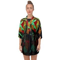 Girls Curiosity 12 Half Sleeve Chiffon Kimono by bestdesignintheworld