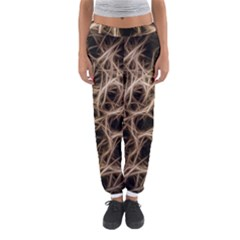 Structure Background Pattern Women s Jogger Sweatpants