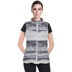 Marble Tiles Rock Stone Statues Pattern Texture Women s Puffer Vest by Simbadda