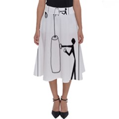 Drawing  Perfect Length Midi Skirt by ValentinaDesign