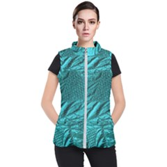 Background Texture Structure Women s Puffer Vest by Simbadda