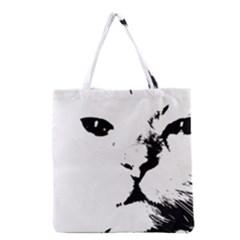 Cat Grocery Tote Bag