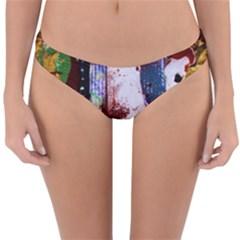 Doves Match 1 Reversible Hipster Bikini Bottoms by bestdesignintheworld